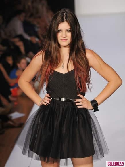 Kylie Jenner on the Runway