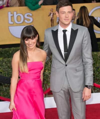 Lea Michele and Cory Monteith Image