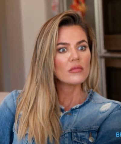Khloe Kardashian Reacts