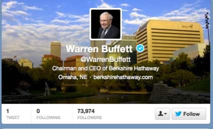 Warren Buffett Joins Twitter, Gains Followers Even Faster Than Cash