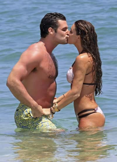 Rachel Uchitel and Husband