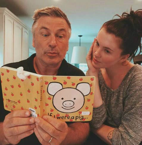 Ireland and Alec Baldwin Photo