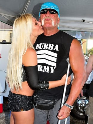 Brooke and Hulk Hogan Photo