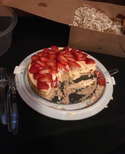 Cheesecake Before Beefcake