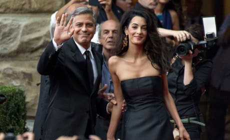 George Clooney and Amal Alamuddin: Red Carpet Debut
