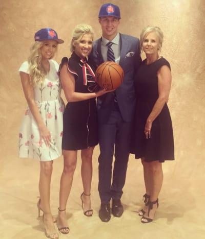 Savannah Chrisley at the Draft