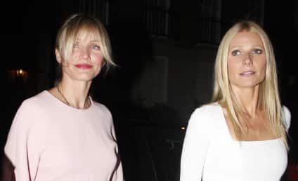 "Cameron Diaz: ""Proud"" of Gwyneth Paltrow and Chris Martin!"