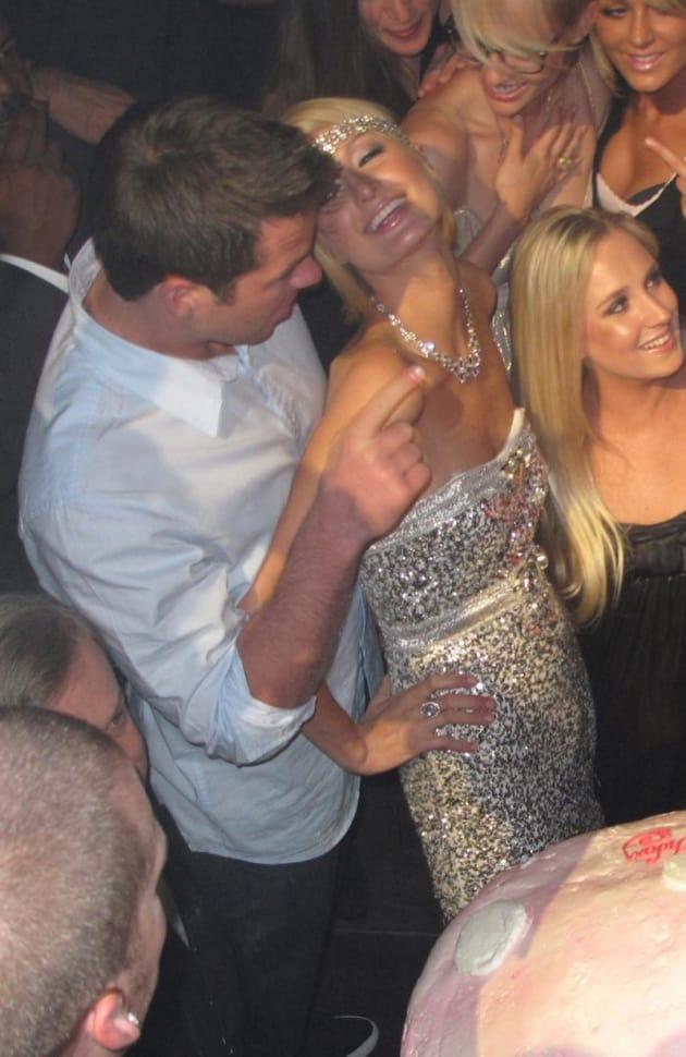 Doug and Paris Hilton