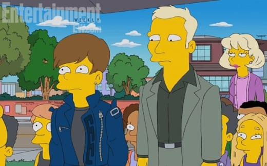Justin Bieber Simpsons Pic