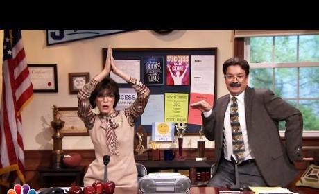 Jimmy Fallon and Julianna Margulies Make School Announcements