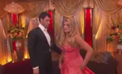 Dancing with the Stars Week Two: Quickstepping and Smooching...