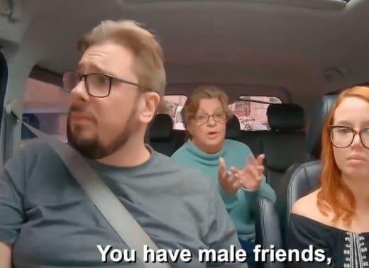 Debbie Johnson - you have male friends