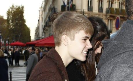Bieber in Paris