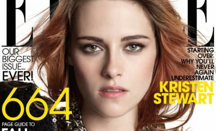 Kristen Stewart Covers Elle, Will Never Smile in Public