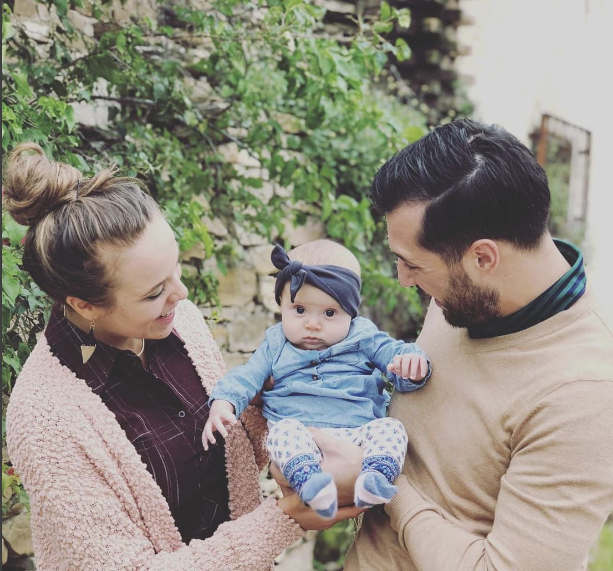 40a841d09 Jinger Duggar Shares Sweetest Pic of Bundled Baby Felicity - The ...