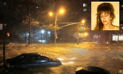 "Lady Gaga Laments Hurricane Sandy: ""My Childhood is Underwater"""