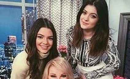 Kylie Jenner Pays Tribute to Joan Rivers on Instagram