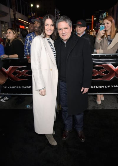 Brad Grey and Wife