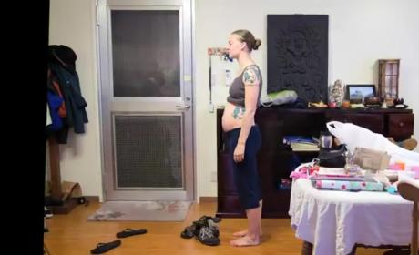Pregnancy Time Lapse Video