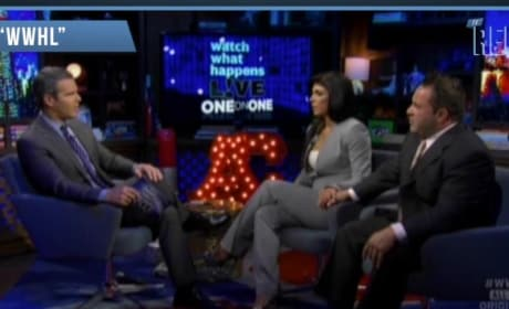 Teresa Giudice and Joe Giudice on Watch What Happens Live