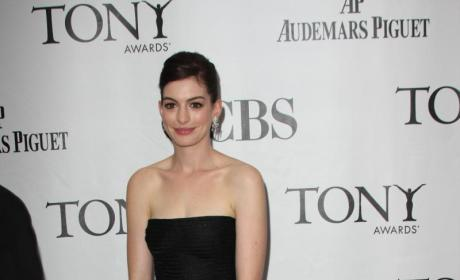 Who looked better at the Tony Awards: Anne Hathaway or Gina Gershon?