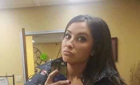 Bristol Palin Selfie Time