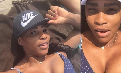 Serena Williams Flaunts Cleavage, Laughs Off Body-Shamers