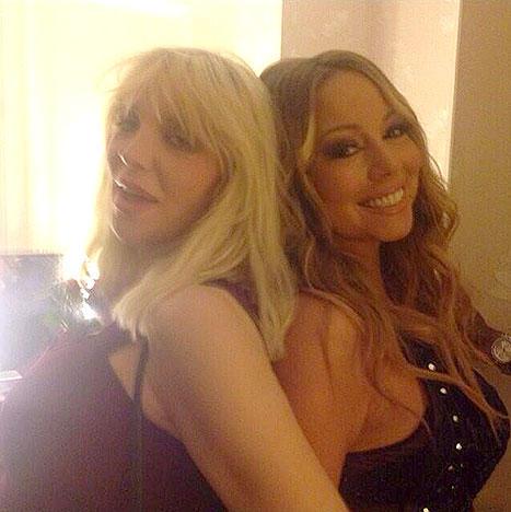Courtney Love, Mariah Carey