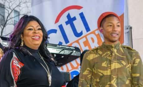 Kim Burrell and Pharrell