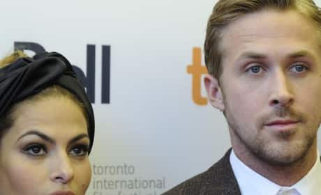 Ryan Gosling, Eva Mendes on Break