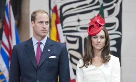 Prince William and Kate Middleton Attend Citizenship Ceremony in Ottawa, Canada