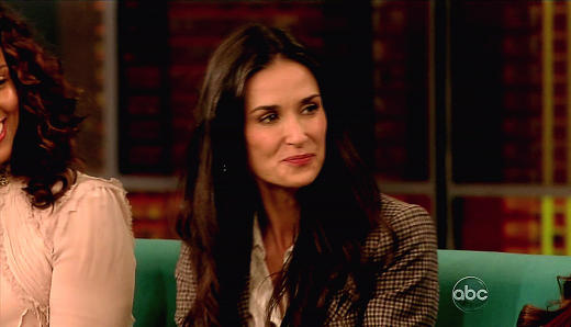 Demi Moore on The View