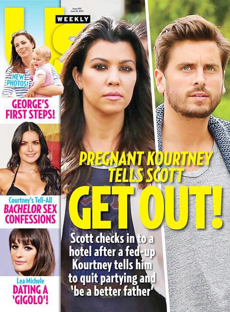 Scott Disick, Kourtney Kardashian Fighting!