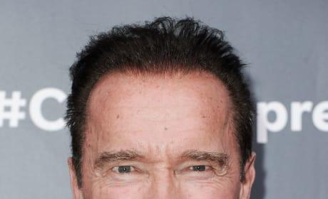 Arnold Schwarzenegger Close Up