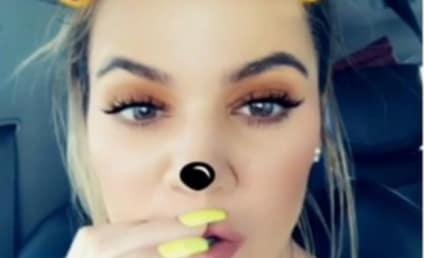Khloe Kardashian: Flaunting Engagement Ring on Snapchat?