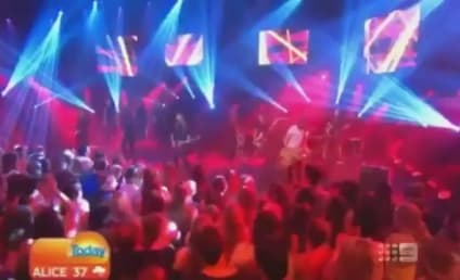 Taylor Swift Heads Down Under, Performs on Today