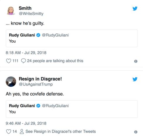 Rudy Responses
