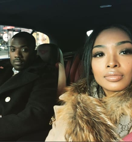 Ray J and Princess Love on Instagram