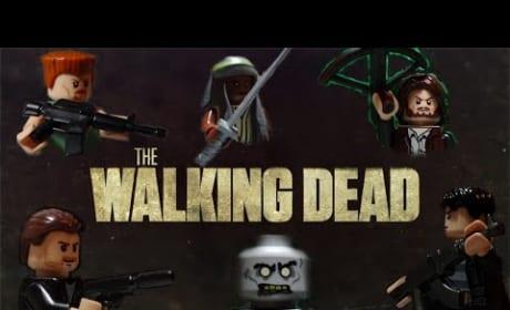 Legos Act Out The Walking Dead Season 5 Trailer