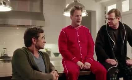 Full House Stars Reunite for Dannon Super Bowl Commercial