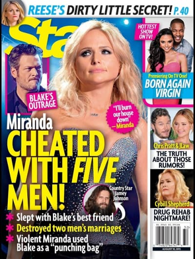 Miranda Lambert Cheating?