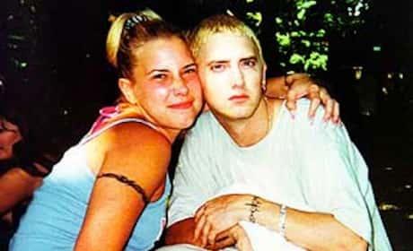 Eminem and Kim Mathers