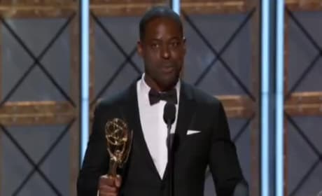 Sterling K. Brown Played Off During Emmy Speech