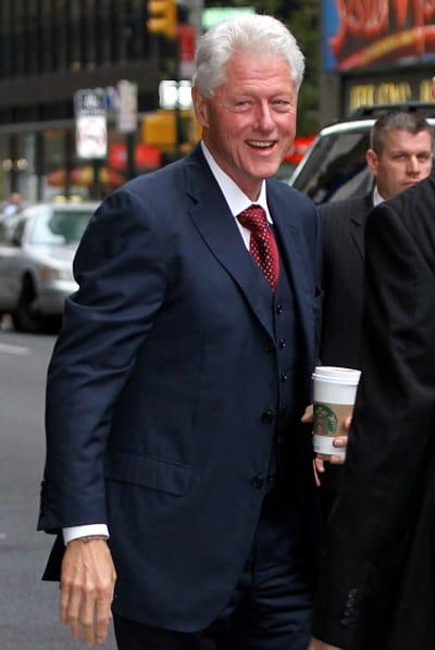 Bill Clinton in NYC