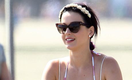 Katy Perry Riding