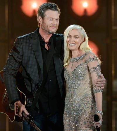 Are gwen and blake shelton dating