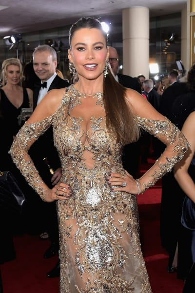 Sofia Vergara at the Globes