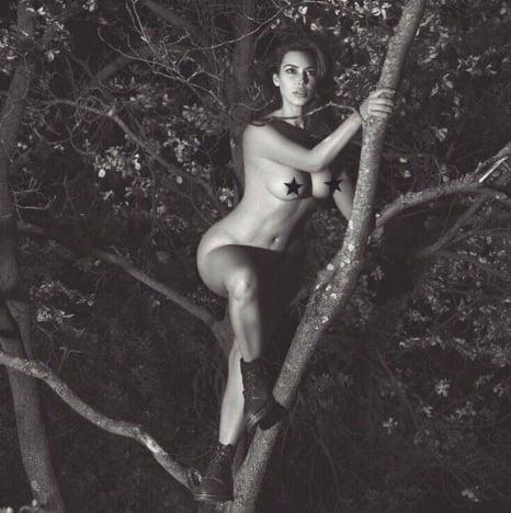 Kim Kardashian: Naked Again