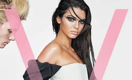 Kendall Jenner V Magazine Photo