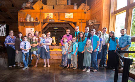 Duggar Family Photo